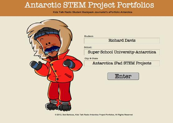 Super School Software, Kids Talk Radio, STEM Antarctica Portfolio