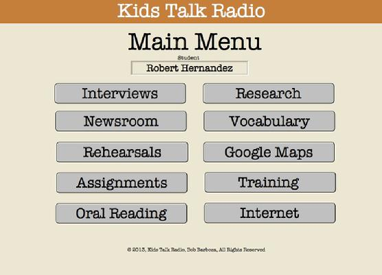 Kids Talk Radio ePortfolio, Portfolio Assessment, Kids Talk Radio