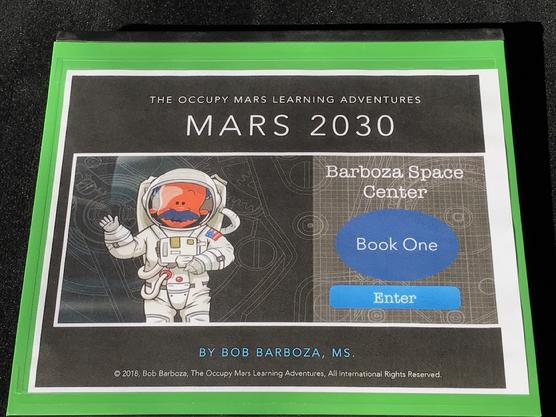 Mars 2030 Workbook, STEAM++, Barboza Space Center Fellowship