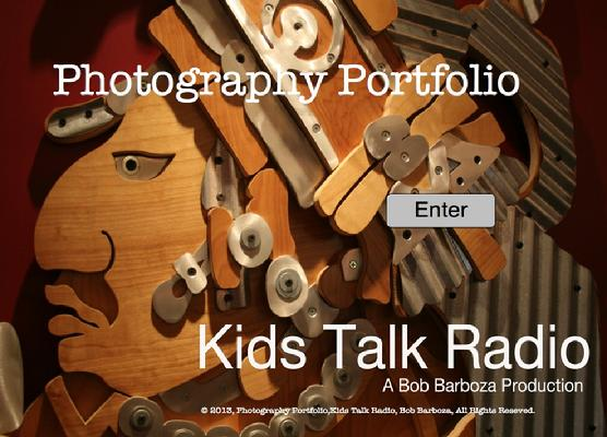 Kids Talk Radio ePortfolio, Photography Portfolio, Kids Talk Radio